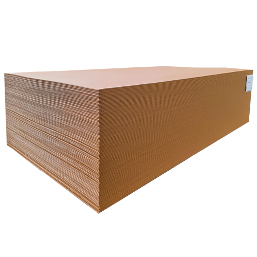 Stacked sheetboard